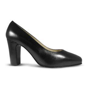 zapato-para-azafata-comodo-negro modelo Seven