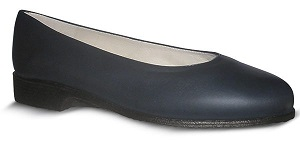 Zapato-para-Azafatas-comodos-Azul modelo Redondo