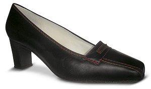 Zapatos-comodos-para-azafatas-negros modelo Alti