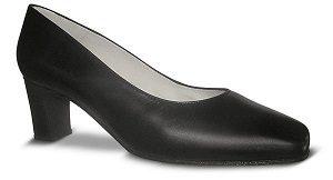 Zapatos-para-Azafatas-comodos-Negro modelo Black