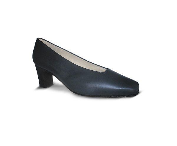 Zapato azul para azafata cómodo Atlántico