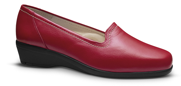 """f537768f68cd3 Zapato comodo para mujer Rojo """"Visi"""" - Galomfarma"""