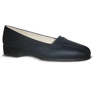 zapato-para-Azafata-comodo-Azul-modelo-world-bajo