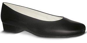 zapato-para-azafata-comodo-negro modelo n bajo