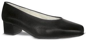 zapato-para-azafatas-comodo-Negro modelo Aire