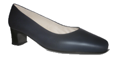 Zapato Azafata Azul Galomfarma